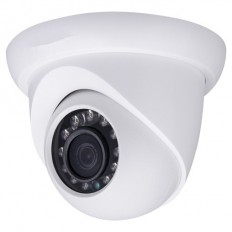 Cámara IP Domo, resolución 2Mpx, ONVIF, óptica fija 2.8mm, visión nocturna 30m, exterior, PoE