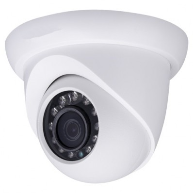 Cámara IP Domo, resolución hasta 2Mpx, ONVIF, óptica fija 2.8mm, visión nocturna 30m