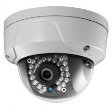 Cámara IP Domo, resolución 2Mpx, ONVIF, PoE, óptica fija 3.6mm, visión nocturna 30m, exterior.
