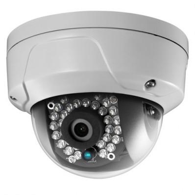 Cámara IP DOMO resolución 2Mpx, ONVIF, óptica fija 3.6mm, visión nocturna 20m