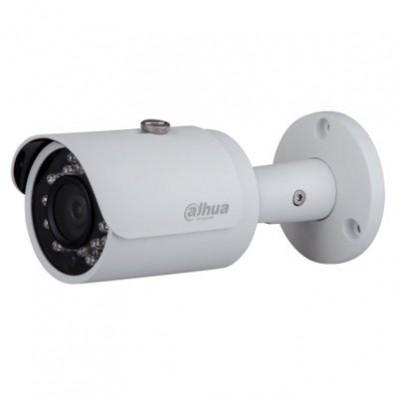 Cámara IP Bullet, resolución 1.3Mpx, ONVIF, PoE, óptica fija 3.6mm, visión nocturna 30m, exterior.