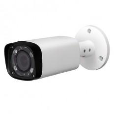 Cámara IP Bullet, resolución 2Mpx, ONVIF, PoE, óptica varifocal de 2.7~ 12mm, visión nocturna 30m, exterior.