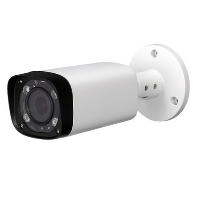 Cámara IP Bullet, resolución 2Mpx, ONVIF, PoE, óptica varifocal, visión nocturna 30m, exterior.