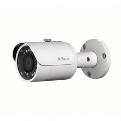 Cámara IP Bullet, resolución 4Mpx, ONVIF, PoE, óptica fija de 2.8mm, visión nocturna 30m, exterior.