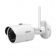 Cámara IP Wifi Bullet, Dahua, resolución 3Mpx, ONVIF, óptica fija de 3.6mm, visión nocturna 30m, exterior.