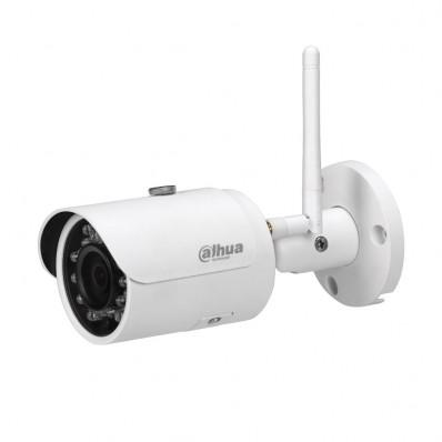 Cámara IP Wifi Bullet, resolución 3Mpx, ONVIF, PoE, óptica fija de 3.6mm, visión nocturna 30m, exterior.