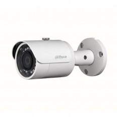 Cámara IP Bullet, Dahua, resolución 4Mpx, ONVIF, PoE, óptica fija 3.6mm, visión nocturna 30m, exterior.