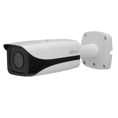 Cámara IP Bullet, resolución 4Mpx, ONVIF, PoE, varifocal motorizada, visión nocturna 50m, exterior.