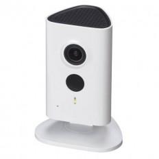 Cámara IP Wifi Cubo 3Mpx, óptica fija 2.3mm, interior. Visión nocturna 10m y audio incorporado.