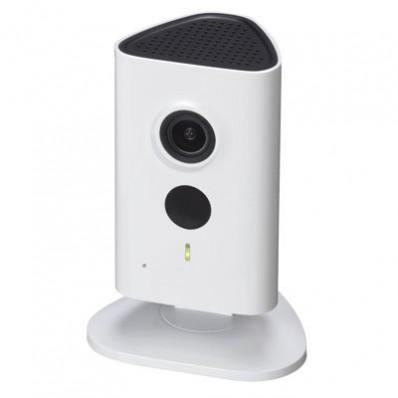 Cámara IP Wifi Cubo 3Mpx, ONVIF, óptica fija 2.3mm, interior. Visión nocturna 10m y audio incorporado.