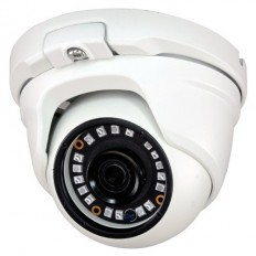Cámara Domo 4 en 1 (HDCVI/HDTVI/AHD/CVBS)  1080p  exterior/interior, óptica fija y visión nocturna 20m
