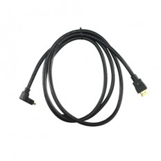 Cable HDMI Conectores HDMI tipo A macho Conector acodado 90°
