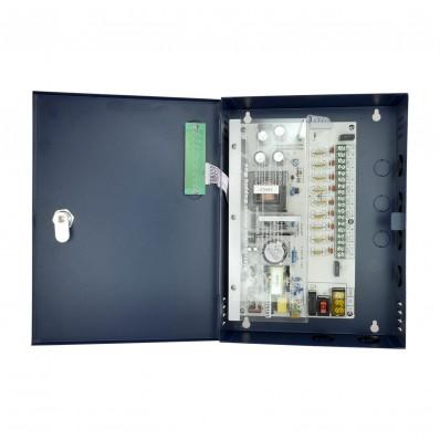 Caja de distribución de alimentación 1 entrada AC 110 V ~ 220 V 9 salidas por par de cobre