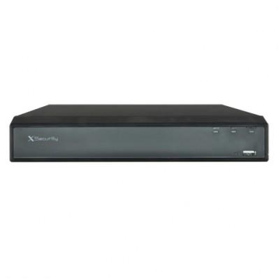 Grabador NVR IP 32 canales resolución máxima 6Mpx.