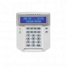 Teclado Paradox con pantalla LCD en con switch anti tamper  salida PGM.