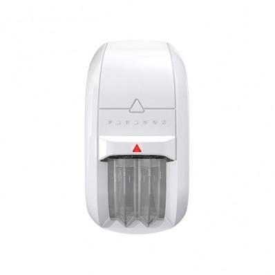 Detector PIR dual con óptica dual Mironel