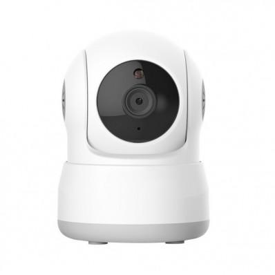 Cámara IP Wifi domo 1mpx, interior, óptica fija 3.6mm, motorizada, ONVIF y visión nocturna 5m.  Audio.