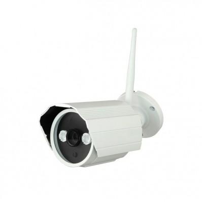 Cámara IP Wifi Bullet, resolución 1.3Mpx, ONVIF, PoE, óptica fija de 3.6mm, visión nocturna 15m, exterior.