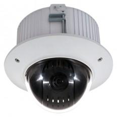 Cámara Domo Motorizada 4 en 1 (HDCVI/HDTVI/AHD/CVBS)  1080p, exterior, zoom óptico 12X, 5.3~64mm, visión nocturna, audio.