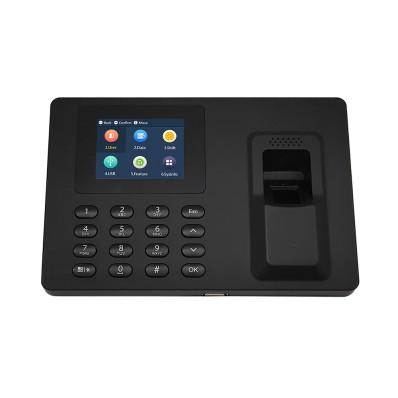 Terminal biométrico de control de presencia Dahua a color. Autentificación por huella, contraseña o biometría