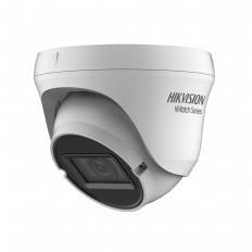 Domo 4 en 1 de HIKVISION,Smart IR de 40 m para exterior.  1MP. Óptica varifocal de 2,8~12 mm