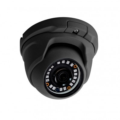 Domo 4 en 1 con iluminación IR de 20 m para exterior. 1,3MP a 720P. Óptica fija de 2,8 mm