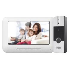 Kit Videoportero Nivian, Tecnología analógica, Plug And Play,  4 hilos, Placa y Monitor