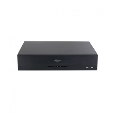 Videograbador XVR 5en1 Dahua de 16 Canales + 8 canales IP de 5Mpx con Audio Alarma