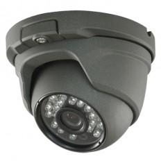 Cámara Domo 4 en 1 (HDCVI/HDTVI/AHD/CVBS)  720p ext/int, optica fija  y visión nocturna 20m.